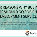 9 for Reasons Why Business Owners Should Go for PHP Web Development Services