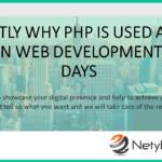Exactly why PHP Is Used A lot more in Web Development These days