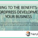 Returning to the Benefits of PHP and WordPress Development for Your Business