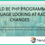 Could be PHP Programming Language Looking at Radical Changes