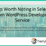 5 Things Worth Noting in Selecting a Custom WordPress Development Service
