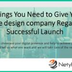 5 Things You Need to Give Your Website design company Regarding a Successful Launch